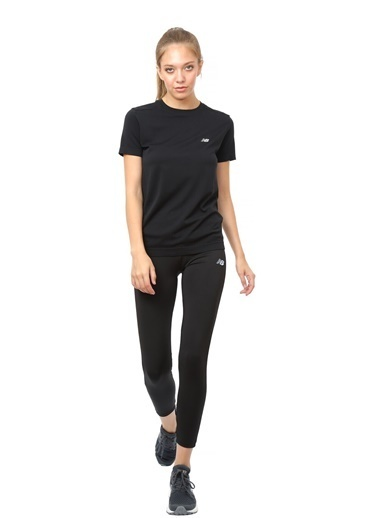 New Balance Pro Tee Kadın Tişört Siyah